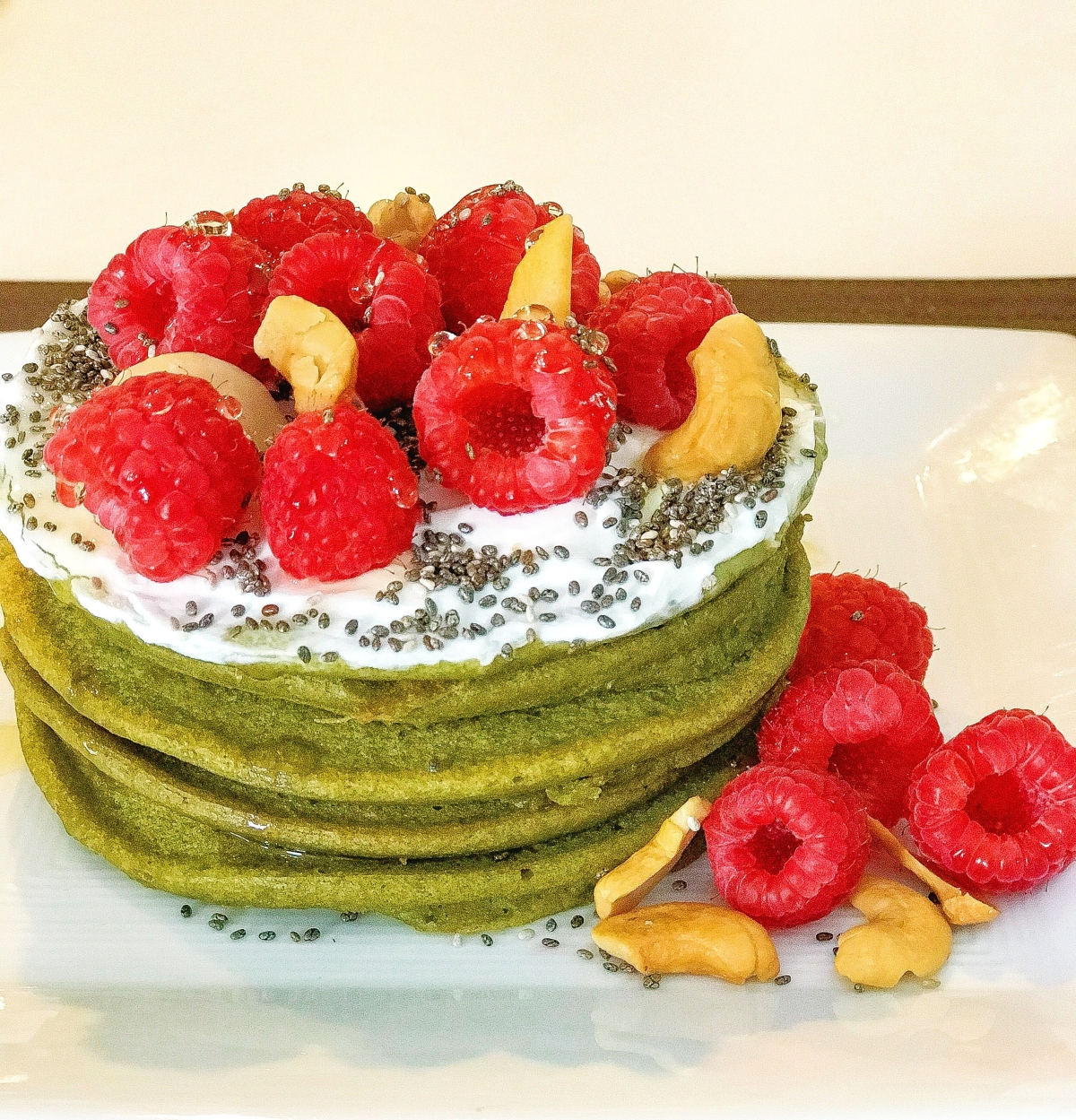 New recipe alert! Easy Matcha Green Tea Banana Pancakes